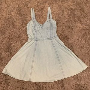 H&M | Blue Mini Dress